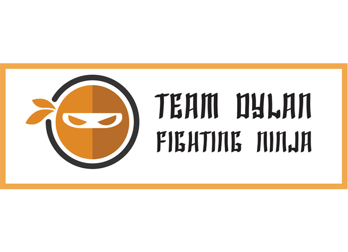 team dylan fighting ninja logo