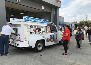 ice cream truck at smoke on the water event
