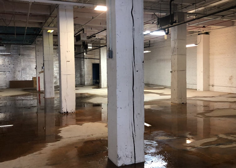 water floor damage in Chicago IL