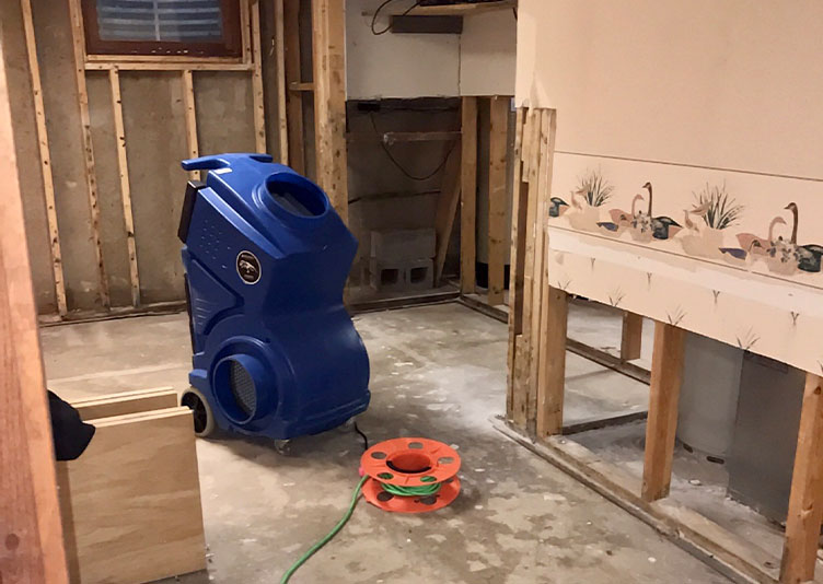 equipment for water mitigation
