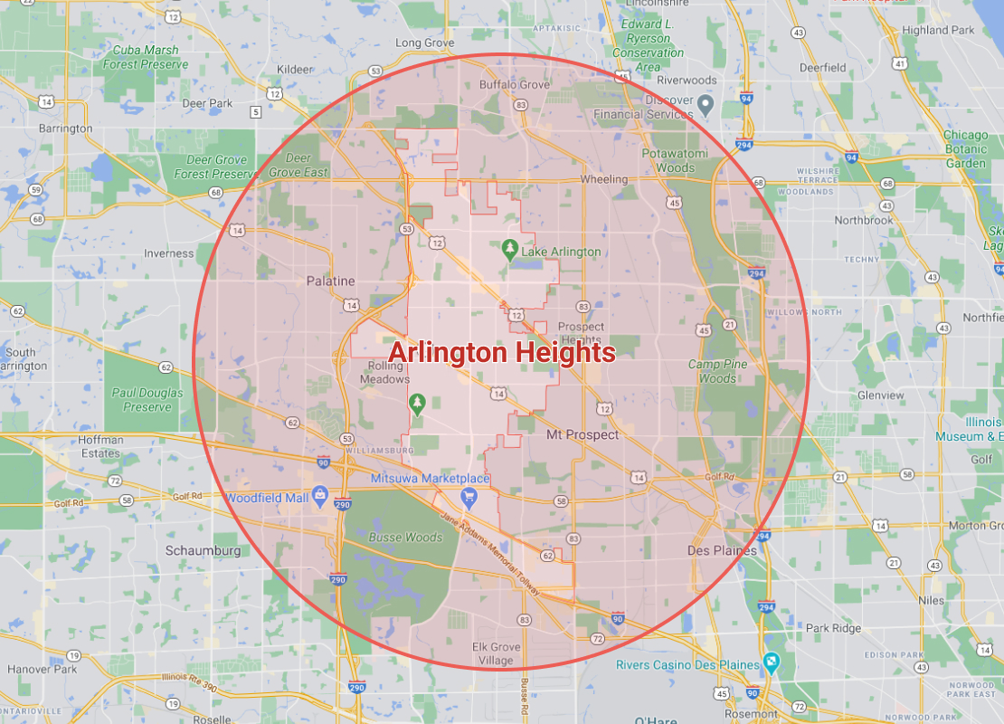 coverage for emergency restoration services in arlington heights, il