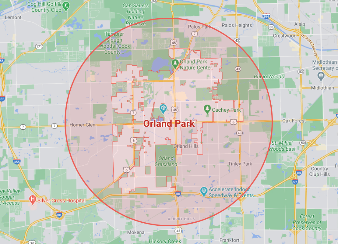 coverage for emergency restoration services in orland park, il