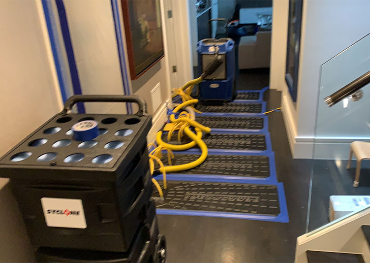 equipment needed for water damage recovery in Chicago, IL