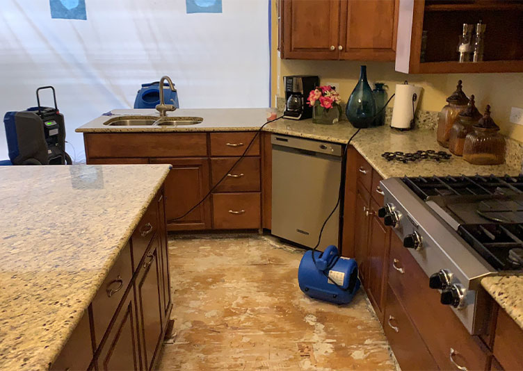 Drying Shorewood, IL home after water damage
