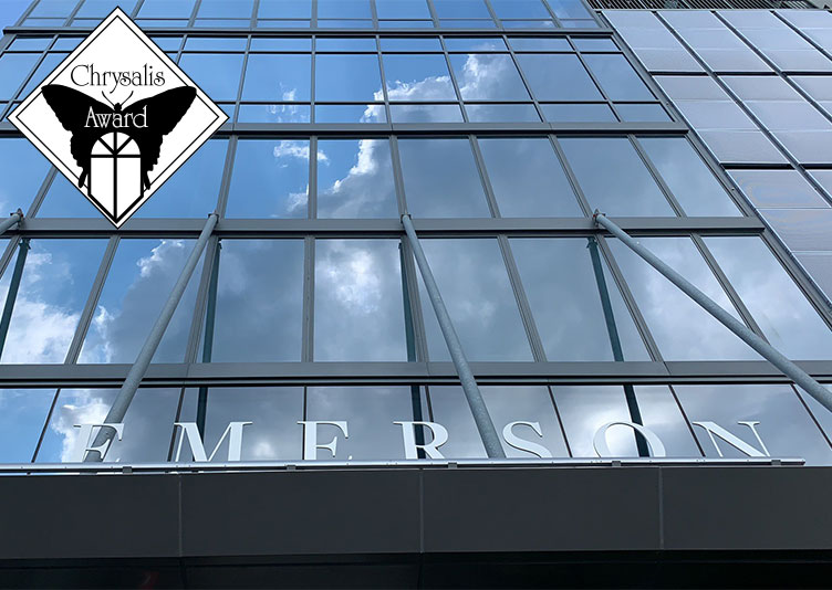 exterior of The Emerson building after commercial water damage recovery
